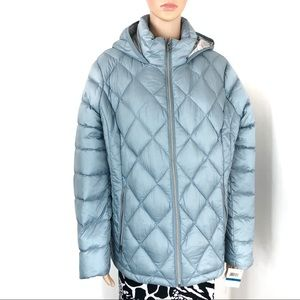 Lucky Brand Missy Short Jacket Light Blue XL